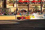 #22 Joey Logano  during NASCAR's Burnout Blvd. Driven By Goodyear