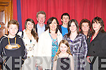 Darren Prendergast, Laura, Joesph, Mary, Jamie, Anna Tyther, Aisling Prendergast, Mary and Eileen Jones Killorglin at the Killarney Musical Society production of Oliver on Tuesday night