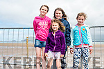 Rebecca, Ciara, Kate and Anna Lucey (Ballydavid) at the Béal Ban horse and pony races on Sunday afternoon.