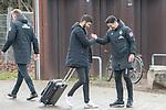17.01.2020, Trainingsgelaende am wohninvest WESERSTADION,, Bremen, GER, 1.FBL, Werder Bremen Training ,<br /> <br /> Ankunft der Spieler am Stadion in  Zivil vor dem Auswaertsspiel in Duesseldorf<br />  im Bild<br /> <br /> Nuri Sahin (Werder Bremen #17)<br /> Ilia Gruev (Co-Trainer SV Werder Bremen)<br /> <br /> Foto © nordphoto / Kokenge