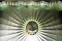 Sir Owen Williams: Daily Express Building, London. Ceiling by Ronald Atkinson. 1932. Photo '87.