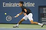 Novak Djokovic (SRB) defeats Joao Sousa (POR) 6-0, 6-2, 6-2