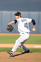 Evan Scribner - Peoria Saguaros, 2009 Arizona Fall League.Photo by:  Bill Mitchell/Four Seam Images..