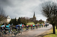Picture by Alex Broadway/SWpix.com - 07/03/17 - Cycling - 2017 Paris Nice - Stage Three - Chablis to Chalon-sur-Saône - The Peloton passes through the French countryside.