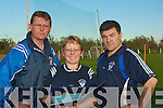 Going through the names on Monday as the press call were the management team of St Brendan Hurling Club, Ardfert. l-R; Jeremiah Clifford (Chairman), Josephine O'Riordan (PRO) and Justin Horgan (Vice chairman)....