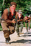 Zapatista footsoldiers train in their community of Guadalupe Tepeyac in the jungles of Chiapas, Mexico, 1994.