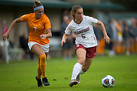 STANFORD, CA - November 23, 2018: Carly Malatskey at Laird Q. Cagan Stadium. The top seeded Stanford Cardinal defeated the Tennessee Volunteers 2-0 in the Quarterfinal of the NCAA tournament.