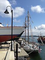 Maine Maritime Academy Dock, Castine, Maine, US