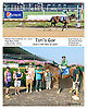 Tori's Guy winning at Delaware Park on 9/2/15 <br /> Brian Pedroza's 4th win of the day!