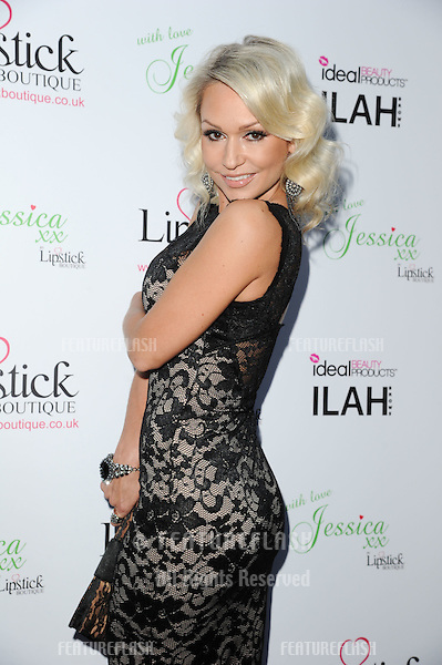 Kristina Rihanoff arrives for the Lipstick Boutique & Jessica Wright clothing launch, Sanctum Soho Hotel, London. 21/08/2012 Picture by: Steve Vas / Featureflash