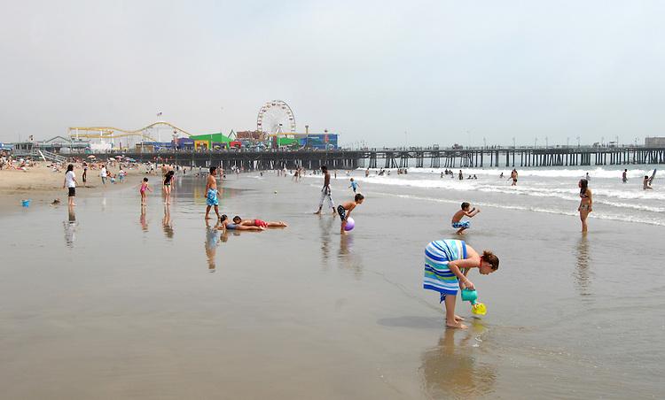 Santa Monica, California USA, September 2008