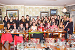 HEN PARTY: Mary Kelly, Hillard's Lane, Killarney (seated centre) having a great time celebrating her Hen Party with family and friends at the Bricin restaurant, Killarney on Saturday.