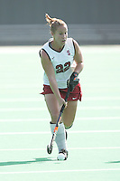STANFORD, CA - OCTOBER 19:  Katherine Donner of the Stanford Cardinal during Stanford's 12-0 win over UC Davis on October 19, 2008 at the Varsity Field Hockey Turf in Stanford, California.