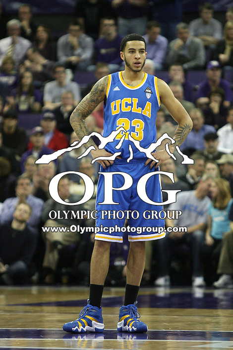 Mar 03, 2011:  UCLA's #23 Tyler Honeycutt against Washington.  Washington defeated UCLA 70- 63 at Alaska Airlines Arena Seattle, Washington...