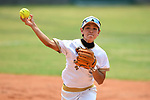 Yuka Ichiguchi (JPN), <br /> AUGUST 19, 2018 - Softball : Women's Preliminary Round between Japan - Hong Kong at Gelora Bung Karno Softball field during the 2018 Jakarta Palembang Asian Games in Jakarta, Indonesia. <br /> (Photo by MATSUO.K/AFLO SPORT)