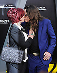 HOLLYWOOD, CA - AUGUST 01: Sharon Osbourne and Ozzy Osbourne arrive at the Los Angeles Premiere of 'Total Recall' at Grauman's Chinese Theatre on August 1, 2012 in Hollywood, California.