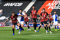 AFC Bournemouth Captain Steve Cook clears the ball out of defence during AFC Bournemouth vs Blackburn Rovers, Sky Bet EFL Championship Football at the Vitality Stadium on 12th September 2020