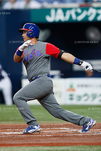 Frank Morejon (CUB), <br /> MARCH 5, 2017 - Baseball : <br /> 2017 World Baseball Classic Exhibithion Game <br /> between Seibu Lions - Cuba <br /> at Kyocera Dome Osaka in Osaka, Japan. <br /> (Photo by Yohei Osada/AFLO SPORT)