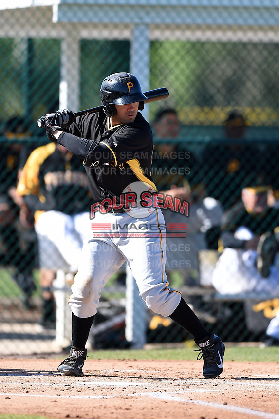 Pittsburgh Pirates Ralph Henriquez (52) during a minor league spring training intrasquad game on March 30, 2014 at Pirate City in Bradenton, Florida.  (Mike Janes/Four Seam Images)