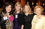 Melisa Dion, Lisa Kauderer, Sarah Kozul and Maria Juarez at the Heart of Gold Celebration benefitting Neighborhood Centers Inc at the Hilton Americas Hotel Thursday Feb. 25,2010. (Dave Rossman Photo)
