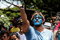BELO HORIZONTE,MG, 07.02.2016 – CARNAVAL-BH- Bloco Ordináááários , desfila na Avenida Brasil,, no bairro Santa Efigênia, região Centro-Sul, de Belo Horizonte, neste domingo, 07. (Foto: Doug Patrício/Brazil Photo Press)