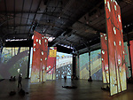 IMAGINE VAN GOGH, the immersive exhibition at the Grande Halle de la Villette on July 16, 2017 in Paris, France.