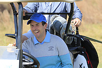 Thomas Aiken (RSA) drives off the 1st tee for the start of Tuesday's Pro-Am Day of the 2014 BMW Masters held at Lake Malaren, Shanghai, China 28th October 2014.<br /> Picture: Eoin Clarke www.golffile.ie