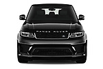 Car photography straight front view of a 2018 Land Rover Range Rover Sport HSE Dynamic 5 Door SUV