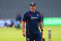 Essex head coach Chris Silverwood looks on ahead of Gloucestershire vs Essex Eagles, NatWest T20 Blast Cricket at The Brightside Ground on 13th August 2017