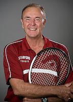 Dick Gould of the Stanford Tennis team.