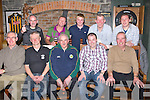 SHOCK: Abbey Tavern to take Niall Horgan's 40th birthd photoi on Friday night in the Abbey Tavern, Ardfert. Front l-r: Brendan Slattery, PJ Shanahan, Joe Wallace, Niall Horgan (birthday boy) and Brendan Griffin. Back l-r: Frank Wallace, Pat Driscoll, Darren Wallace, Pat Mc Carty and Eamon Ferris.