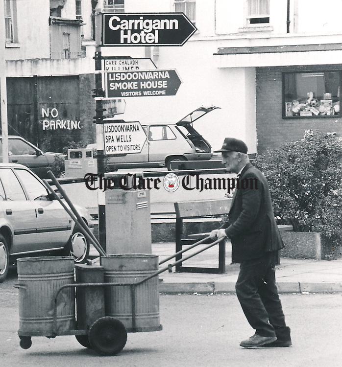 Lisdoonvarna - August 31, 1990. Photograph by Liam McGrath