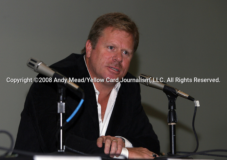 19 January 2008: Chicago investor Gary Weaver. Women's Professional Soccer held a Town Hall Meeting at the 2008 National Soccer Coaches Association of America's annual convention being held at the Convention Center in Baltimore, Maryland.