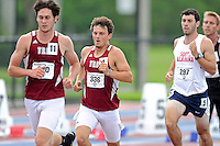 11 May 2013:  Individuals compete in the 1,500 meter run as the last event in the Decathalon Competition on day two of the 2013 Sun Belt Conference Outdoor Track & field Championships at the Ansin Sports Complex in Miramar, Florida.