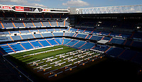 Santiago Bernabeu Stadium in Madrid, Spain. October 17, 2014. ALTERPHOTOS/Caro Marin