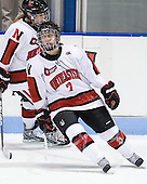 Brittany Esposito (Northeastern - 7) - The Northeastern University Huskies defeated the visiting Clarkson University Golden Knights 5-2 on Thursday, January 5, 2012, at Matthews Arena in Boston, Massachusetts.