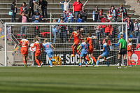 Bridgeview, IL - Saturday May 06, 2017: Sarah Hagen during a regular season National Women's Soccer League (NWSL) match between the Chicago Red Stars and the Houston Dash at Toyota Park.