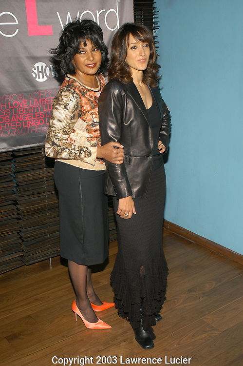 Pam Grier and Jennifer Beals