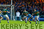 Stephen O'Brien Kerry in action against Paul Mannion  Dublin during the Allianz Football League Division 1 Round 3 match between Kerry and Dublin at Austin Stack Park in Tralee, Kerry on Saturday night.