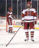 Max Everson (Harvard - 44) - The Union College Dutchmen defeated the Harvard University Crimson 2-0 on Friday, January 13, 2011, at Fenway Park in Boston, Massachusetts.