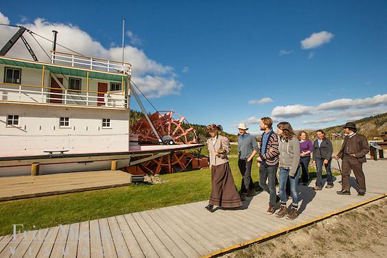 S.S. Keno National Historic Site of Canada in Dawson City, Yukon