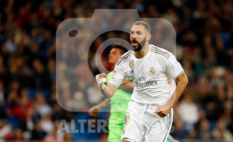 Real Madrid CF's Karim Benzema during La Liga match. Oct 30, 2019. (ALTERPHOTOS/Manu R.B.)
