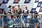 Gran Premio Red Bull de la República Argentina.<br /> 25/27/04/2014<br /> Moto 2 RACES<br /> 19 xavier simeon<br /> 53 tito rabat<br /> 39 luis salom<br /> Photo RM /photocall3000