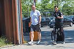 26.06.2020, Trainingsgelaende am wohninvest WESERSTADION,, Bremen, GER, 1.FBL, Werder Bremen Training, im Bild<br /> <br /> Thomas Horsch (Co-Trainer SV Werder Bremen)<br /> Ilia Gruev (Co-Trainer SV Werder Bremen)<br /> auf dem Weg zum Training <br /> <br /> Foto © nordphoto / Kokenge