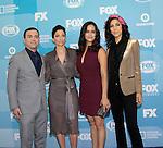 Joe Lo Truglio - Chelsea Peretti - Melissa Fumero - Stephanie Beatriz - Brooklyn Nine-Nine - FOX 2015 Programming Presentation on May 11, 2015 at Wolman Rink, Central Park, New York City, New York.  (Photos by Sue Coflin/Max Photos)