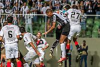 BELO HORIZONTE, MG, 10 JUNHO 2013 - LIBERTADORES - ATLÉTICO MG X Newell's Old Boys (ARG) -  Leonardo Silva do Atlético Mineiro em lance contra o Newell's Old Boys (Argentina), jogo valido pela partida de volta das semi-finais da Taça Libertadores daAmérica no estádio Independencia em Belo Horizonte, na noite desta quarta-feira, 10. (FOTO: NEREU JR / BRAZIL PHOTO PRESS).