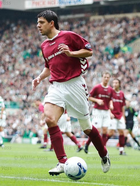 Panagiotis Fyssas, Hearts.stock season 2005-2006.pic willie vass