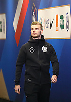 Timo Werner (Deutschland Germany) im Spielertunnel - 16.10.2018: Frankreich vs. Deutschland, 4. Spieltag UEFA Nations League, Stade de France, DISCLAIMER: DFB regulations prohibit any use of photographs as image sequences and/or quasi-video.