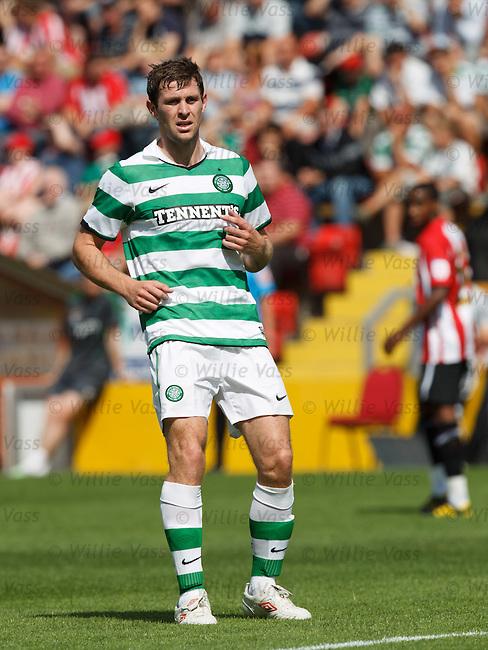 New Celtic striker Daryl Murphy