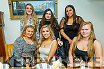 Karen Moloney from Listowel celebrating her 21st birthday in Bella Bia on Saturday.<br /> Seated l to r: Emer Quinn, Karen Moloney and Anna Bajzat. Back l to r: Kayleen Chute, Sophie McEneaney and Selina McCool.